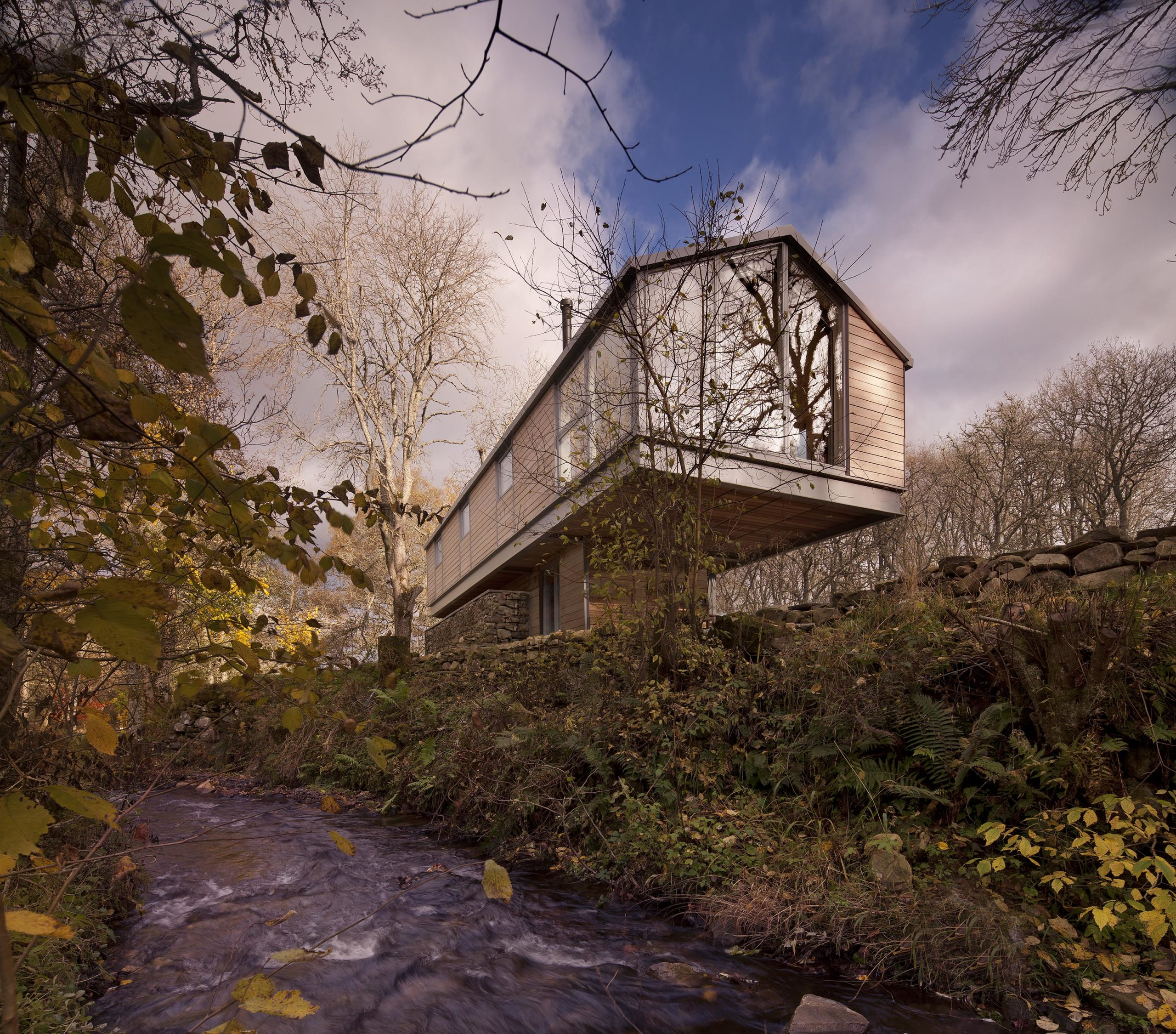 scottish architecture Flax Mill by TAP Architects, Perth and Kinross, Scotland, United Kingdom