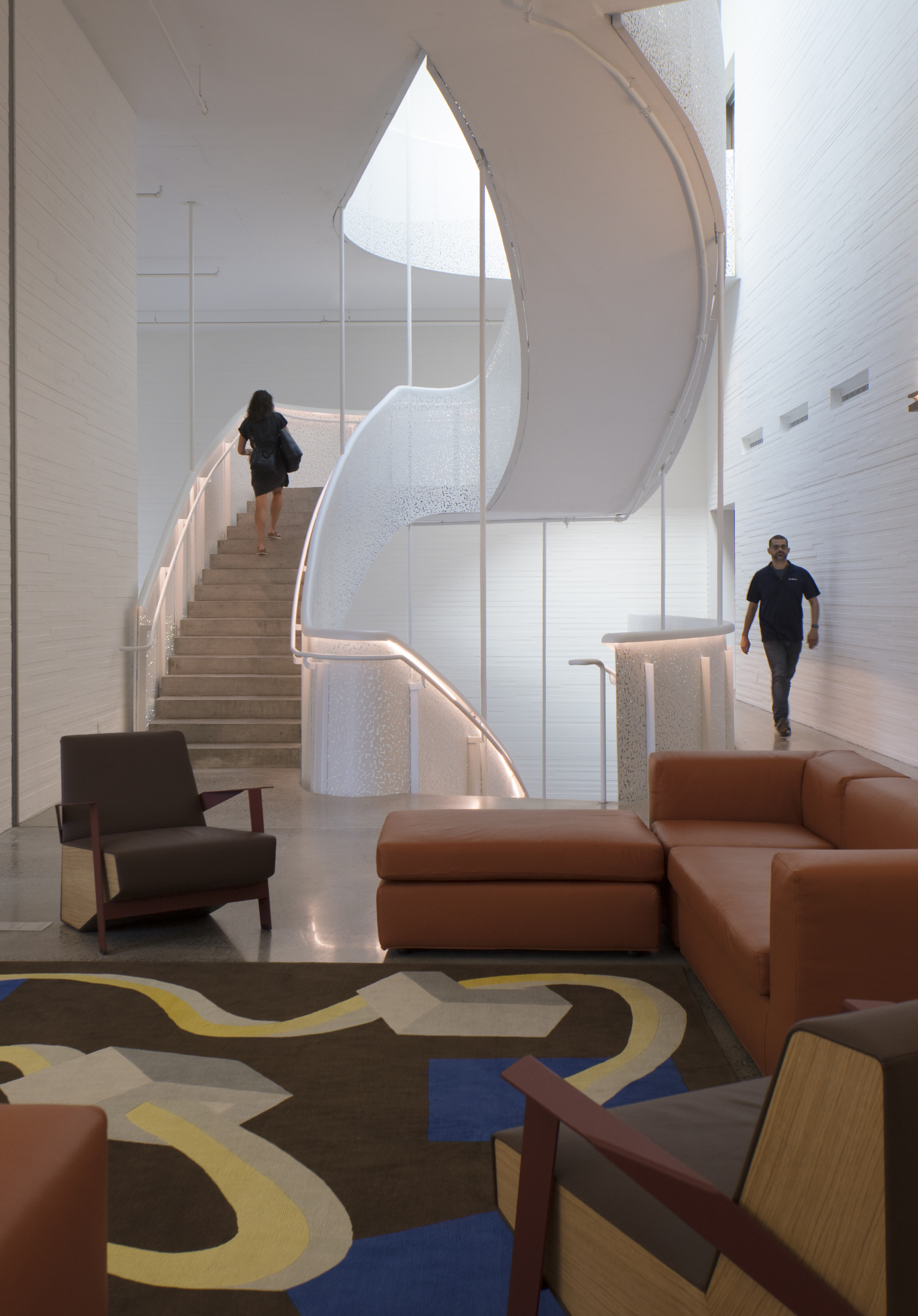 Lewis Arts Complex by Steven Holl Architects