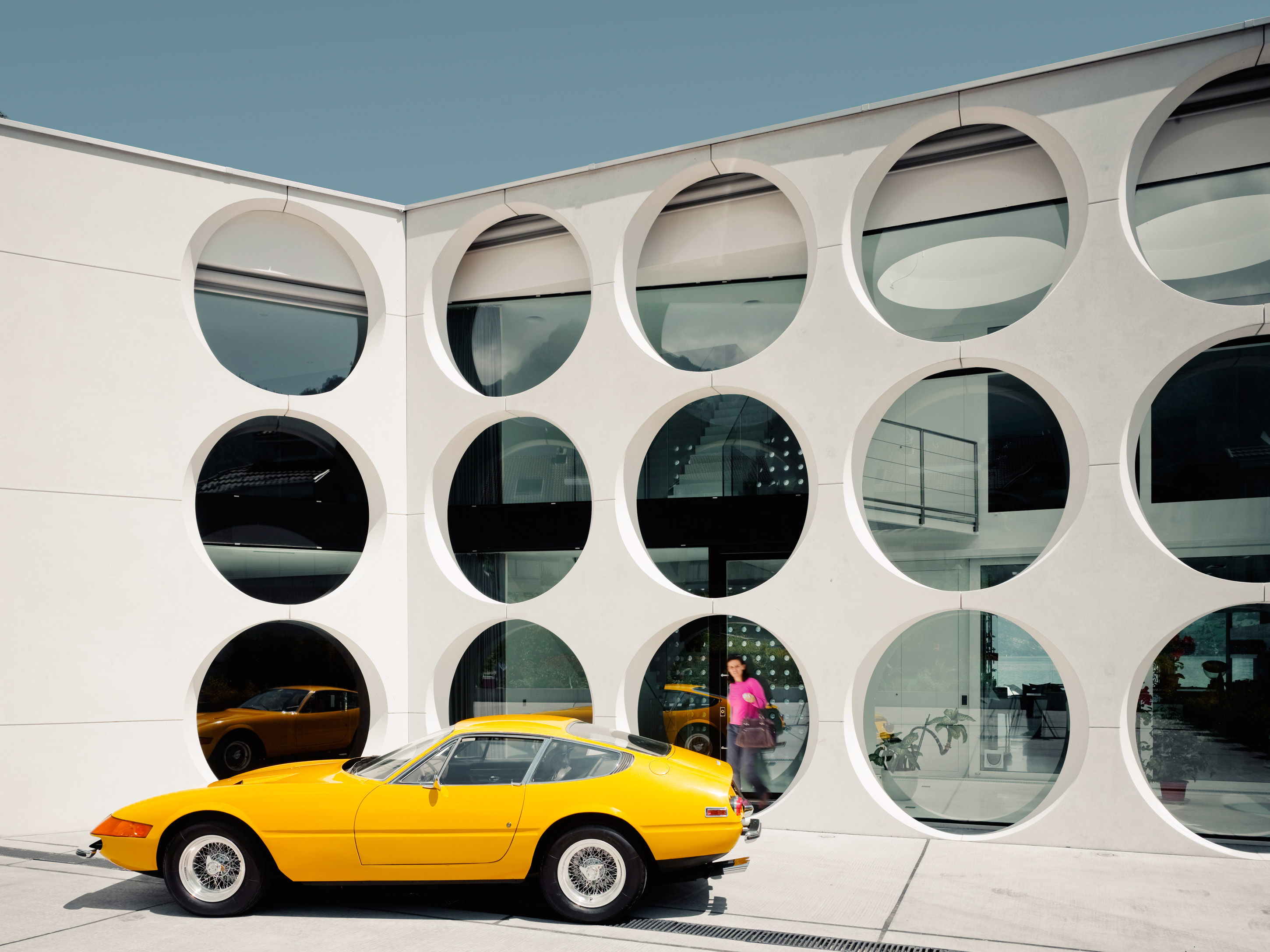 circles in architecture