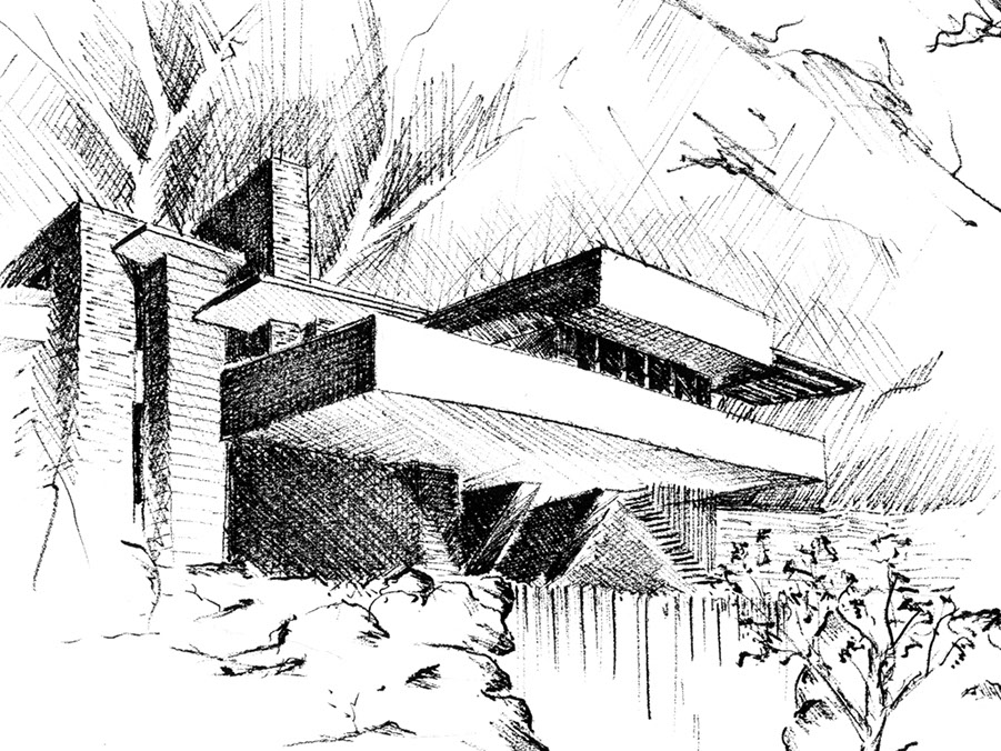 architectural sketching