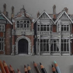 Demi Lang's Stunning Sketches Highlight the Beauty of Traditional Architecture