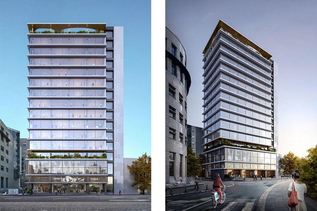 serbian architecture Vega IT HQ Competition proposal